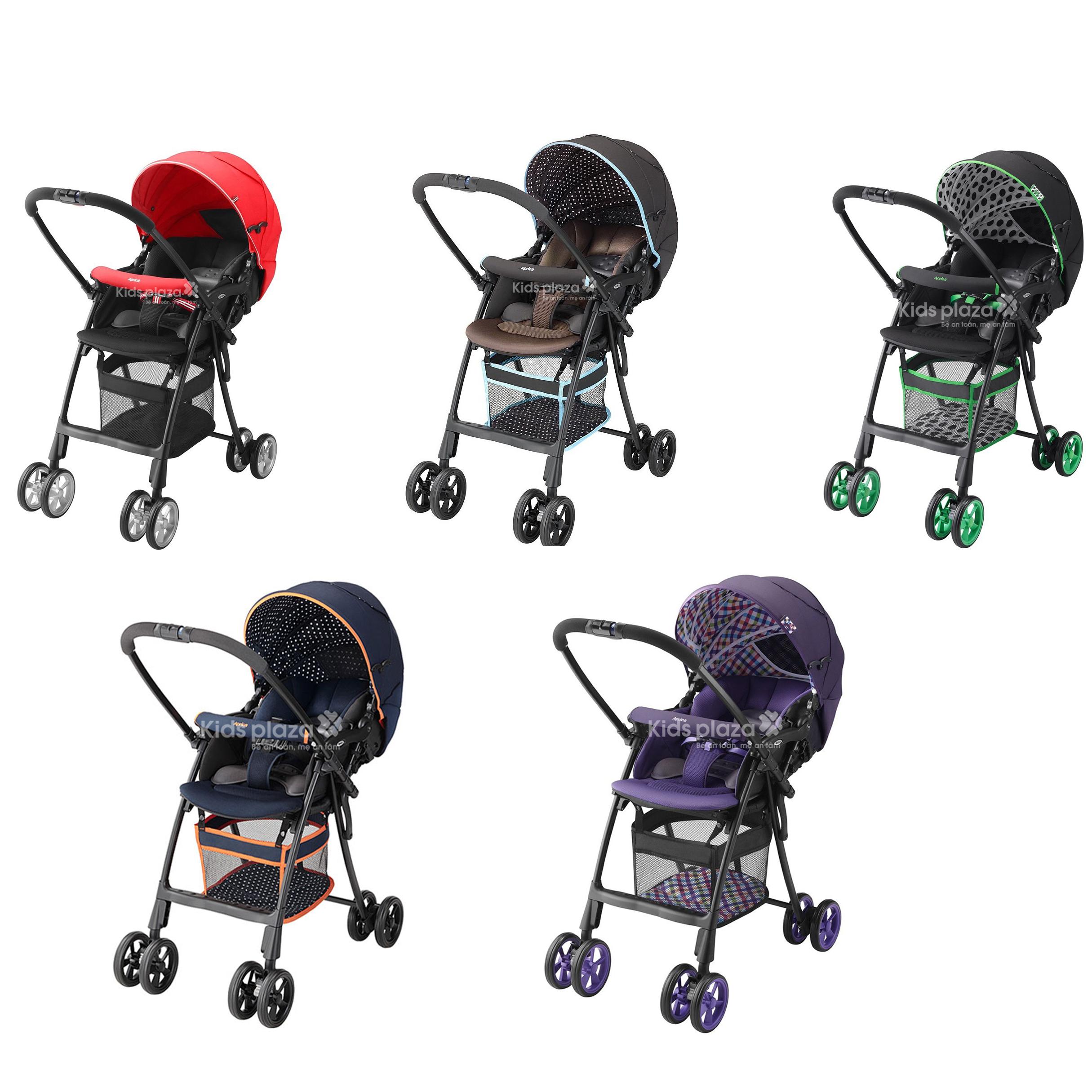 Xe em bé Aprica AirRia nhiều màu sắc cho bạn lựa chọn