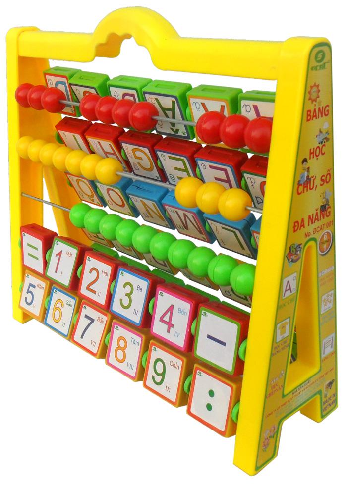 Bảng chữ cái đa năng 6 trong 1 an toàn cho bé