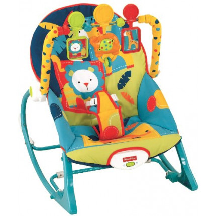 Ghế rung Fisher-Price Infant-To-Toddler Rocker X7046