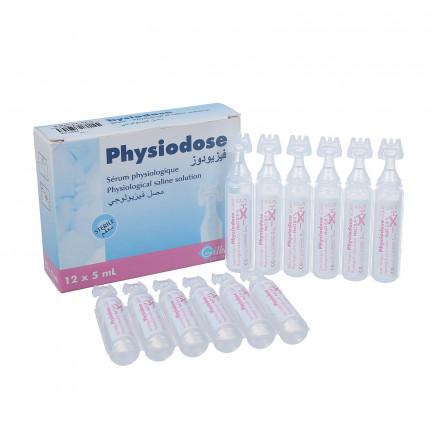 Nước muối sinh lý Physiodose (Pháp) - Hộp 12c/5ml