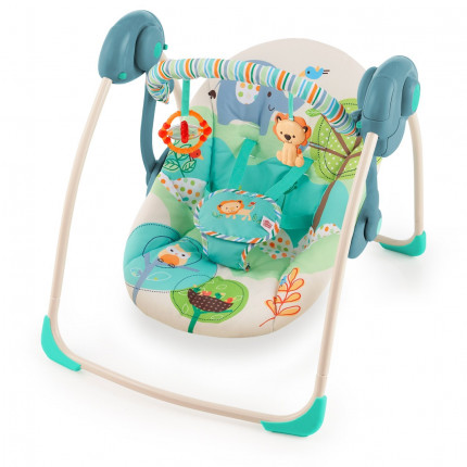 Xích đu Bright Starts Playful Pals Portable Swing 60194