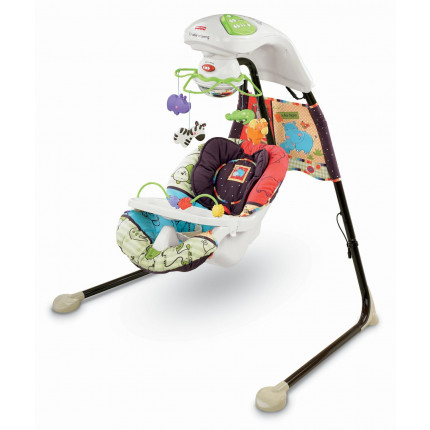 Xích đu Fisher-Price Cradle 'N Swing, Luv U Zoo