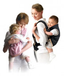Aprica Baby Carrier Easy Touch On BU BK