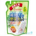 Nước rửa bình và rau quả ChuChu 270ml
