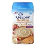 Bột ăn dặm Gerber vị táo khoai tây 227g