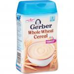 Bột ăn dặm Gerber vị ngũ cốc, lúa mỳ 227g 0045