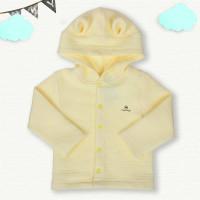 Áo khoác cho bé in gấu Mamago Vàng