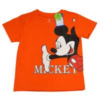 Áo thời trang bé trai Mamago in hình chuột Mickey (Cam)