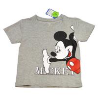 Áo thời trang bé trai Mamago in hình chuột Mickey (Ghi)