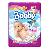 Bỉm - Tã dán Bobby size NB-XS 36 miếng (cho bé ~ 5kg)