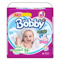 Miếng lót Bobby NewBorn 1 - 88 miếng (dưới 1 tháng tuổi)