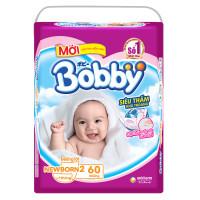 Miếng lót Bobby Newborn2 - 60 miếng (cho bé trên 1 tháng tuổi)