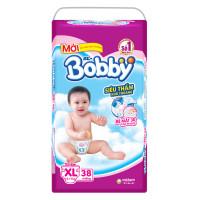 Bỉm - Tã dán Bobby size XL - 38 miếng (cho bé 12 - 17kg)
