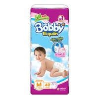 Bỉm - Tã quần Bobby size M - 40 miếng (cho bé 6 - 10kg)