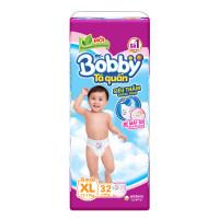 Bỉm - Tã quần Bobby size XL - 32 miếng (cho bé 12 - 17kg)