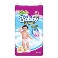 Bỉm - Tã quần Bobby size XL - 48 miếng (cho bé 12 -17kg)