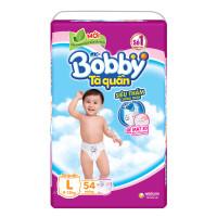 Bỉm - Tã quần Bobby size L - 54 miếng (cho bé 9 - 13kg)