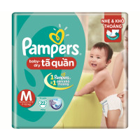 Bỉm quần Pampers M22