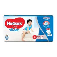 Bỉm - Tã dán Huggies size L 42 miếng (cho bé 9 - 14kg)