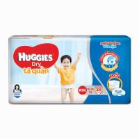 Bỉm - Tã quần Huggies size XXL 38 miếng (cho bé 15 - 25kg)