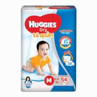 Bỉm - Tã quần Huggies size M 54 miếng (cho bé 6 - 11kg)