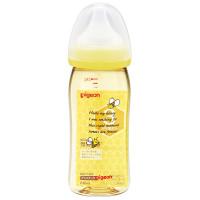 Bình sữa cổ rộng chịu nhiệt 240ml 3254 Pigeon