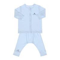 Quần áo sơ sinh cao cấp Mamago (màu xanh)
