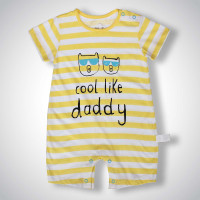Body đùi cộc tay bé trai in cool like daddy CC
