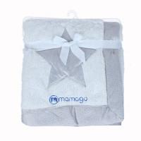 Chăn bông 2 lớp Mamago thêu hình ngôi sao MM09