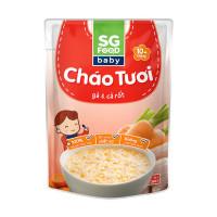 Cháo ăn liền SG Food vị thịt gà cà rốt 10M+
