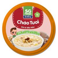 Cháo Sài Gòn Food vị ếch và đậu ngự 240g (Hộp)