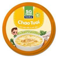Cháo Sài Gòn Food vị gà thảo mộc và hạt sen 240g (Hộp)