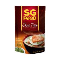 Cháo tươi SG Food vị cá hồi & đậu hà lan 6M+