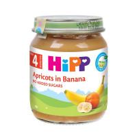 Dinh dưỡng đóng lọ Hipp Chuối mơ 4200 (125g)