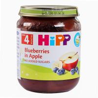Dinh dưỡng đóng lọ Hipp Dâu tím, Táo tây 4273 (125g)