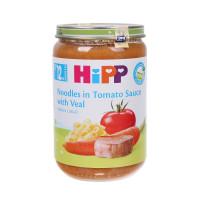 Dinh dưỡng đóng lọ Hipp Thịt bê, Mì sợi, Cà chua 6833 (220g)