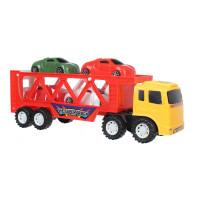 Đồ chơi mô hình xe tải chở ô tô CY.966-4