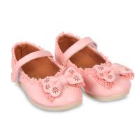 Giày nơ bé gái bo đế viền size nhí (1-3 tuổi)