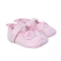 Giày tập đi Mamago họa tiết Micky cho bé gái Q13 (màu hồng)