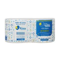 Giấy vệ sinh Kiza 100% giấy nhập ngoại