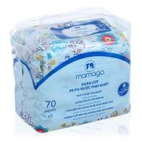 Combo 3 gói khăn ướt tinh khiết Mamago 70pcs MMG