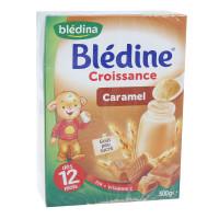 Bột pha sữa Bledina vị Caramel 500g