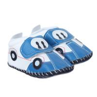 Giày tập đi bé trai in hình ô tô Mamago Q14BL