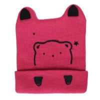 Mũ len in mặt gấu ngộ nghĩnh