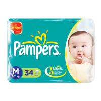Bỉm Pampers M34 miếng (6-11kg)