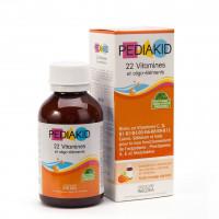 PediaKid bổ sung 22 Vitamin 125 ml