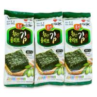 Rong biển nướng dầu Oliu 4g*3 gói
