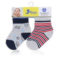 Set 2 đôi tất sơ sinh Kiza 2016ss-244