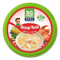Soup Sài Gòn Food vị bắp cua và hạt sen 240g (Hộp)