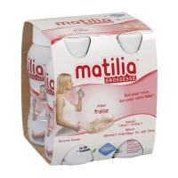 Sữa Bầu Matilia Vị Dâu (Lốc 4 Hộp)